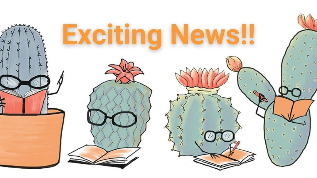 Nov 26 Exciting News Clever Cactus Blog