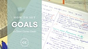 Clever Cactus Guide Goal Setting How To