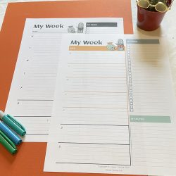 Clever Cactus Weekly Agenda download
