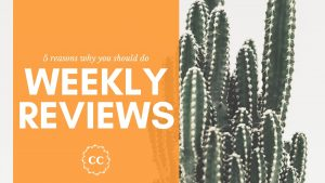 Weekly Reviews Benefits - Clever Cactus